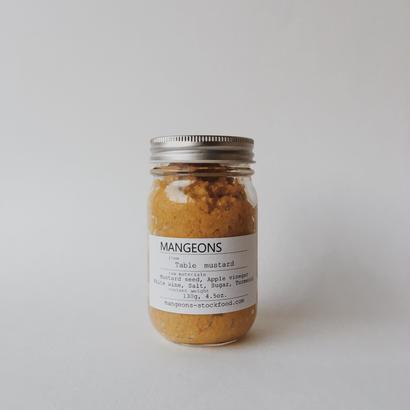Table mustard  130g