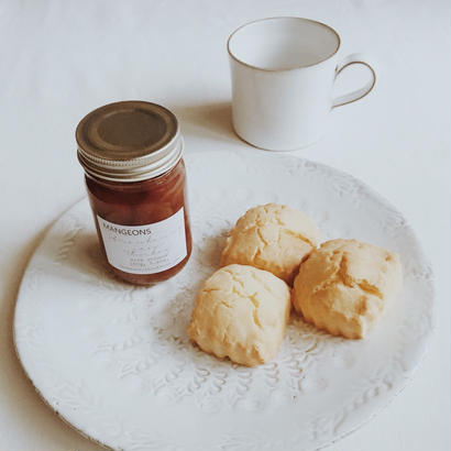 morning set ( Strawberry jam+Scone )