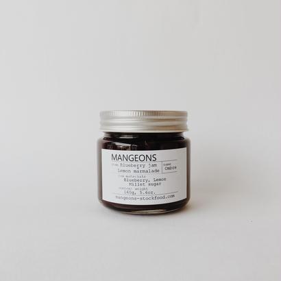 Blueberry jam × Lemon marmalade  'Ombre '