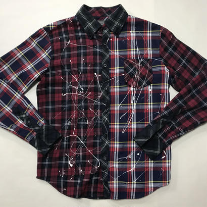 【麻音】CUSTOM CHECK SHIRT SEXPISTOLS