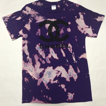 CANELMAFIA BOOT T-SHIRT(PURPLE)