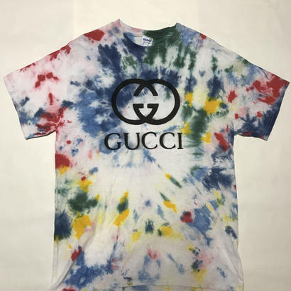 【麻音】BOOT GUCCI T-shirts  tie-dye (受注販売)