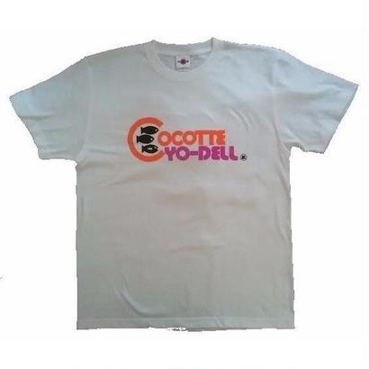 ここってよーでるテイシャツ/バニラホワイト/L