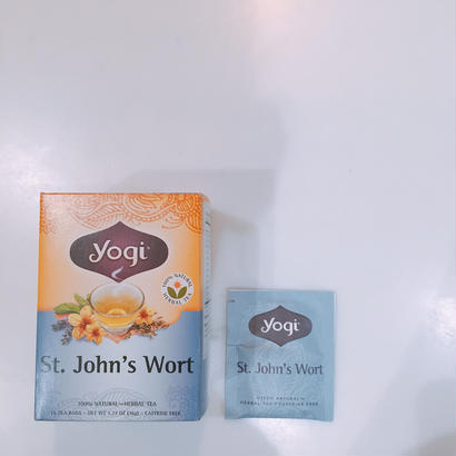 yogi tea セントジョンズワート