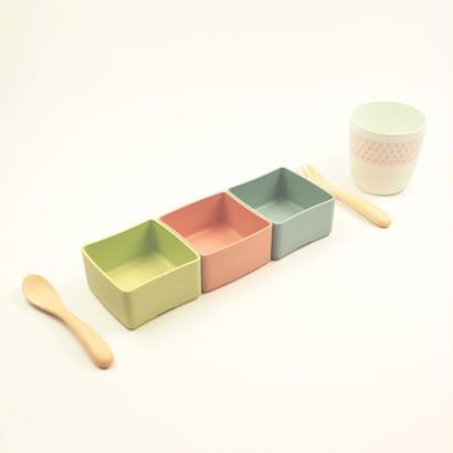 BIOプラスチック食器/TOAST(トースト)キッズセット