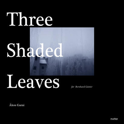 DATA -mp.3 | Ákos Garai :: Three Shaded Leaves (for Bernhard Günter) - MATTER010
