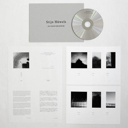 CD | Stijn Hüwels :: SIX PIECES FOR GUITAR- MATTER012