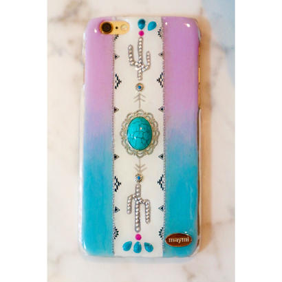 boho turquoise&saboten case