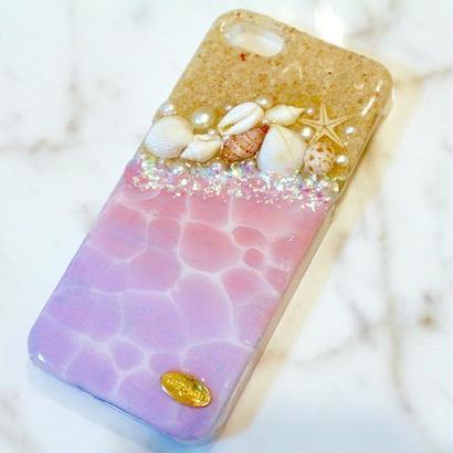 beach case unicorn color