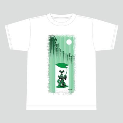【数量限定再販:6月末発送】メダロットTシャツ_メタビー02_ホワイト