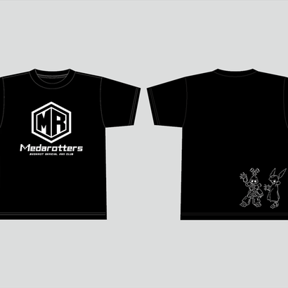 【数量限定再販:6月末発送】メダロッターズTシャツ_ブラック