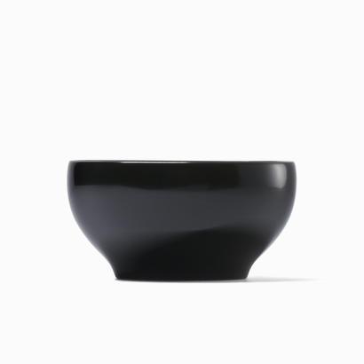 めぐる・日月(花塗り:黒) <単品・中>