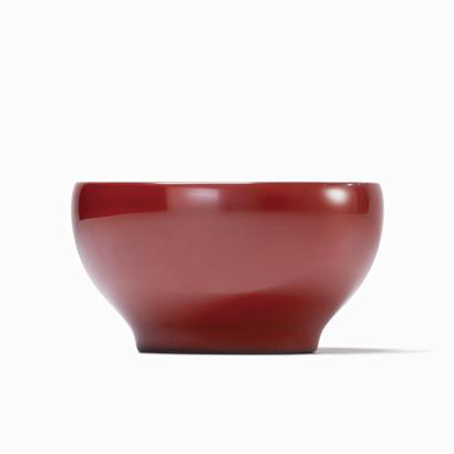 めぐる・日月(花塗り:赤) <単品・大>