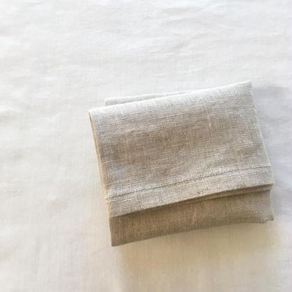 リネンの布袋 M