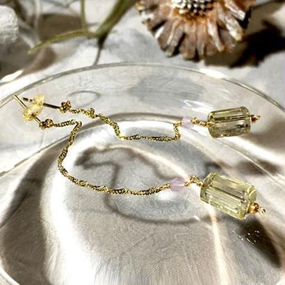Column - Pierced Earrings and Earrings - Lemon, LV