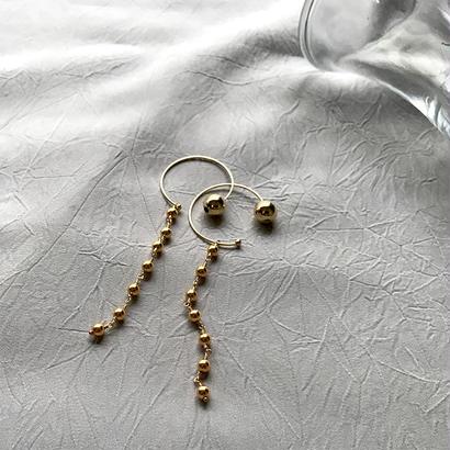 Hoop Pierced Earrings - Metal