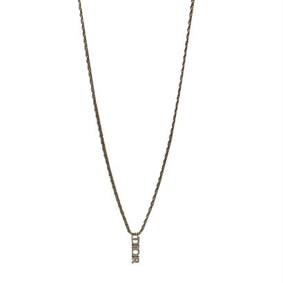 DIOR logo necklace