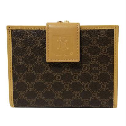 CELINE macadam mini wallet