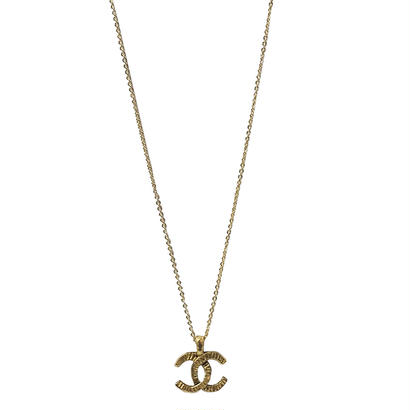 CHANEL remake design cocomark necklace