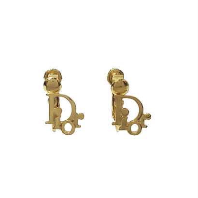 DIOR logo earrings