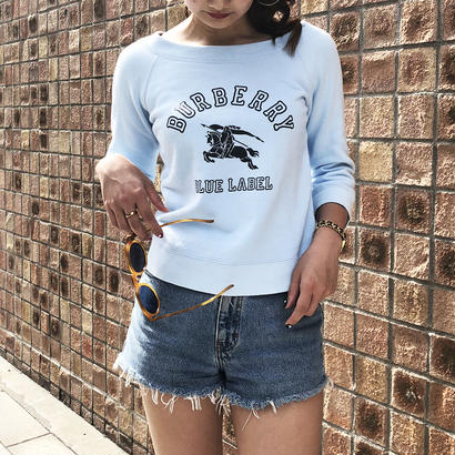 BURBERRY logo sweat