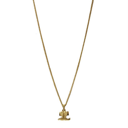 COURREGES logo necklace