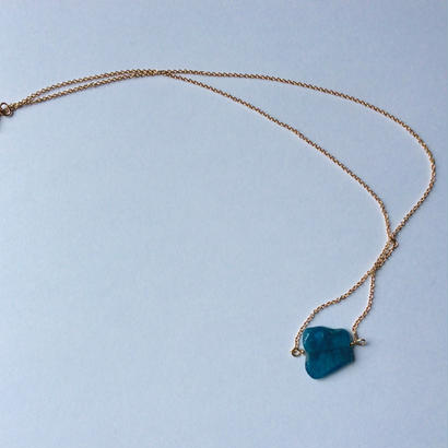 Apatite chain Necklace
