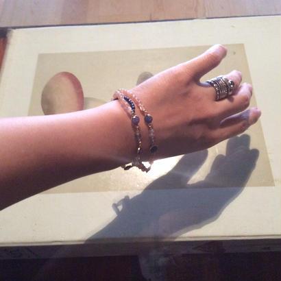 Genuin stone Necklace  sapphire