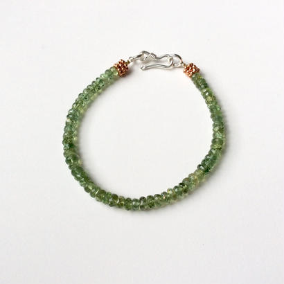 Green apatite Bracelet