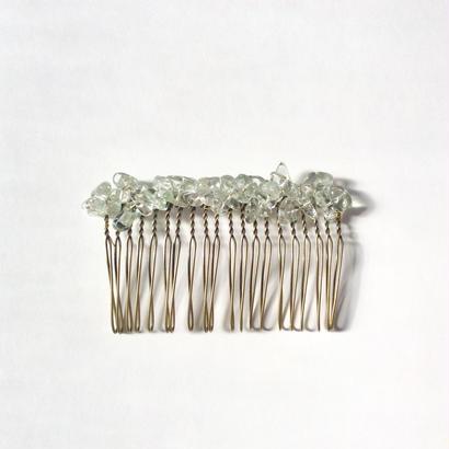 Green Amethyst Comb