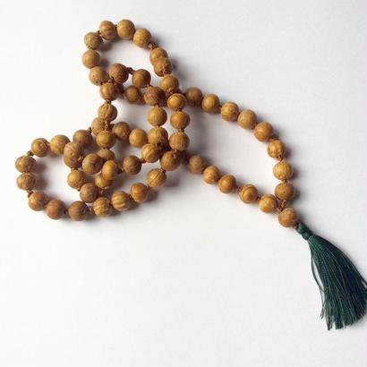 Yakusugi fringe  necklace