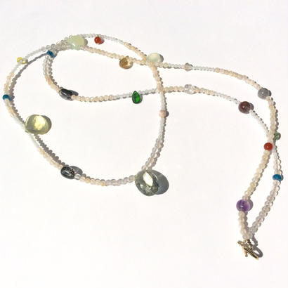 Genuin stone mix Necklace