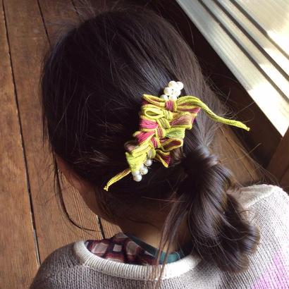 Silk ribbon Comb  vitamin fruit