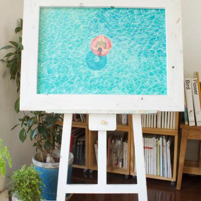 キャンディーフロート/ 原画 (candy float /original paint)