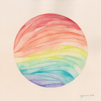 Rainbow planet / 原画
