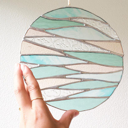 Rainbowcaravan × Yumi / water planet ステンドグラス