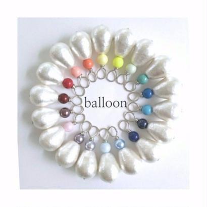 balloon  /  silver