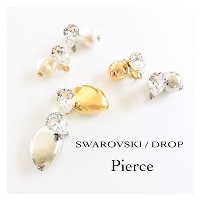 SWAROVSKI  /  DROP  /  Pierce