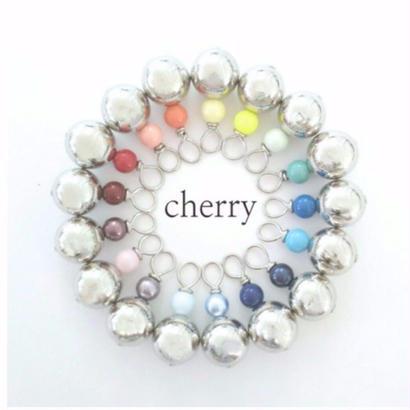 cherry / silver