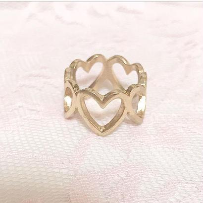 【プチプラ♡】Heart Ring♡ハートリング【アクセサリー】
