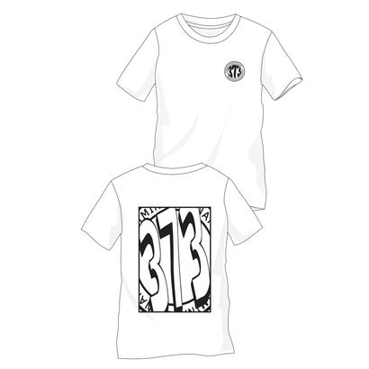 373 BIG T-shirt  (white)
