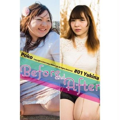 Before And After #01 -Yukina-