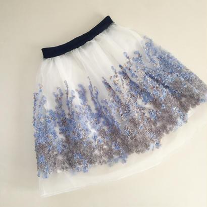 フラワーモチーフスカート