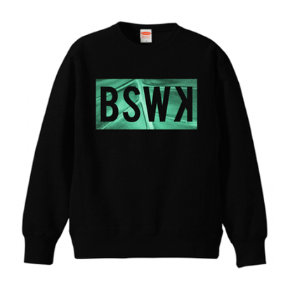 "BSWK ""LEAF"" CREW NECK SHIRT"