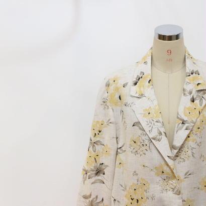 90's オーバーサイズ花柄ジャケット [389b]