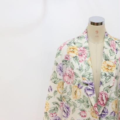90's オーバーサイズ花柄ジャケット [389]