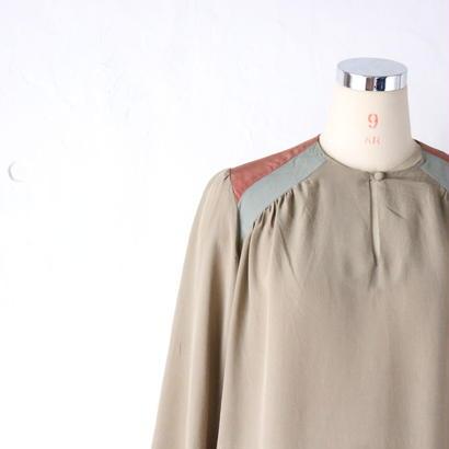 """シルクワンピース """"1970~80's"""" [1815]"""