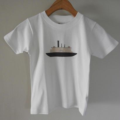 kodomo t-shirts「bort_pink」 size110