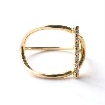 MANTEL BAR DIAMONDリング