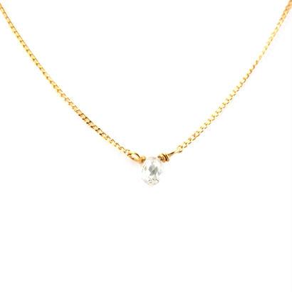 BRIOLETTE DIAMOND MINIネックレス
